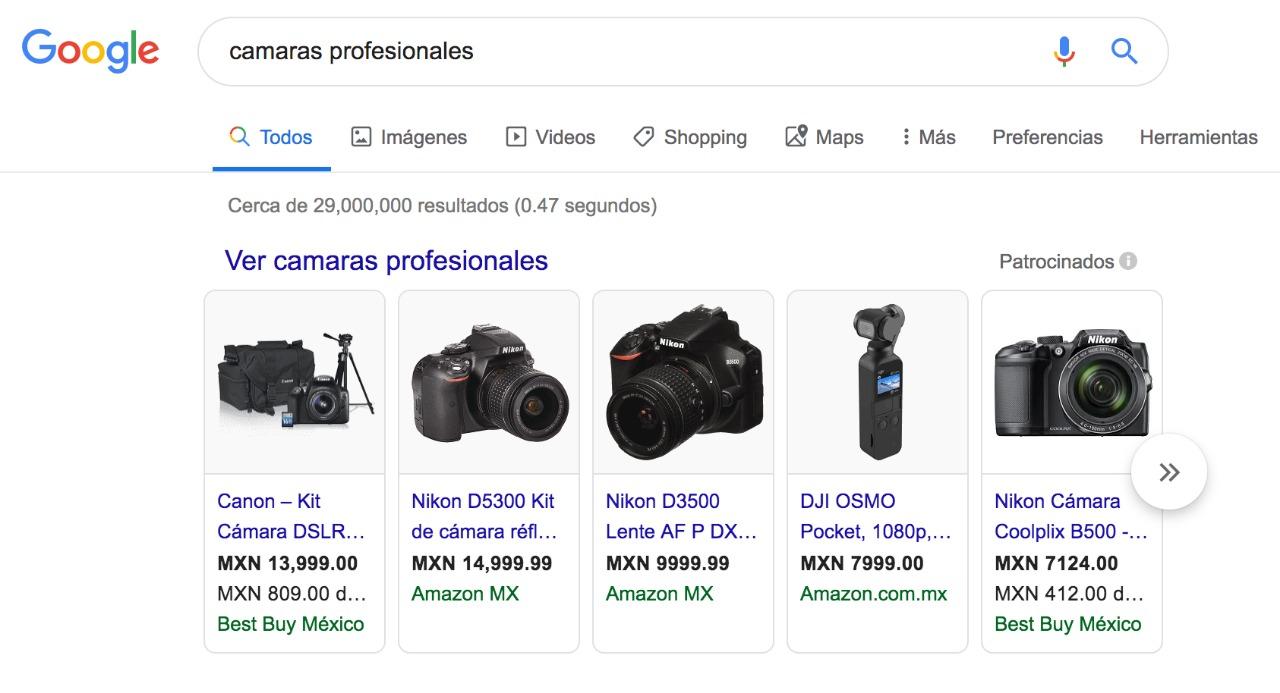 google-shopping-busqueda