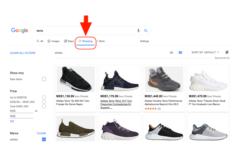 google-shopping-zapatos